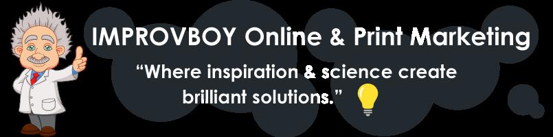 Improvboy Online and Print Marketing | Website Designer Rexburg